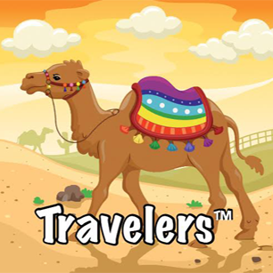 Icon of a camel for toddler curriculum
